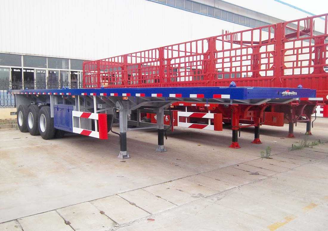 40ft Flat bed Semitrailer