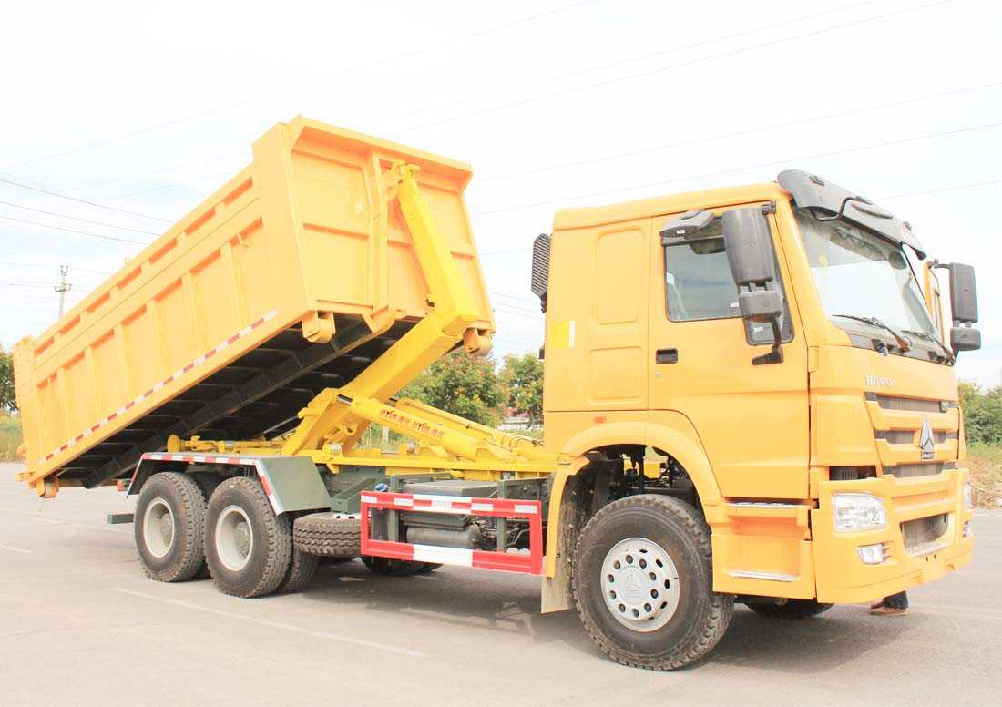 Howo Hook-lift Garbage Truck