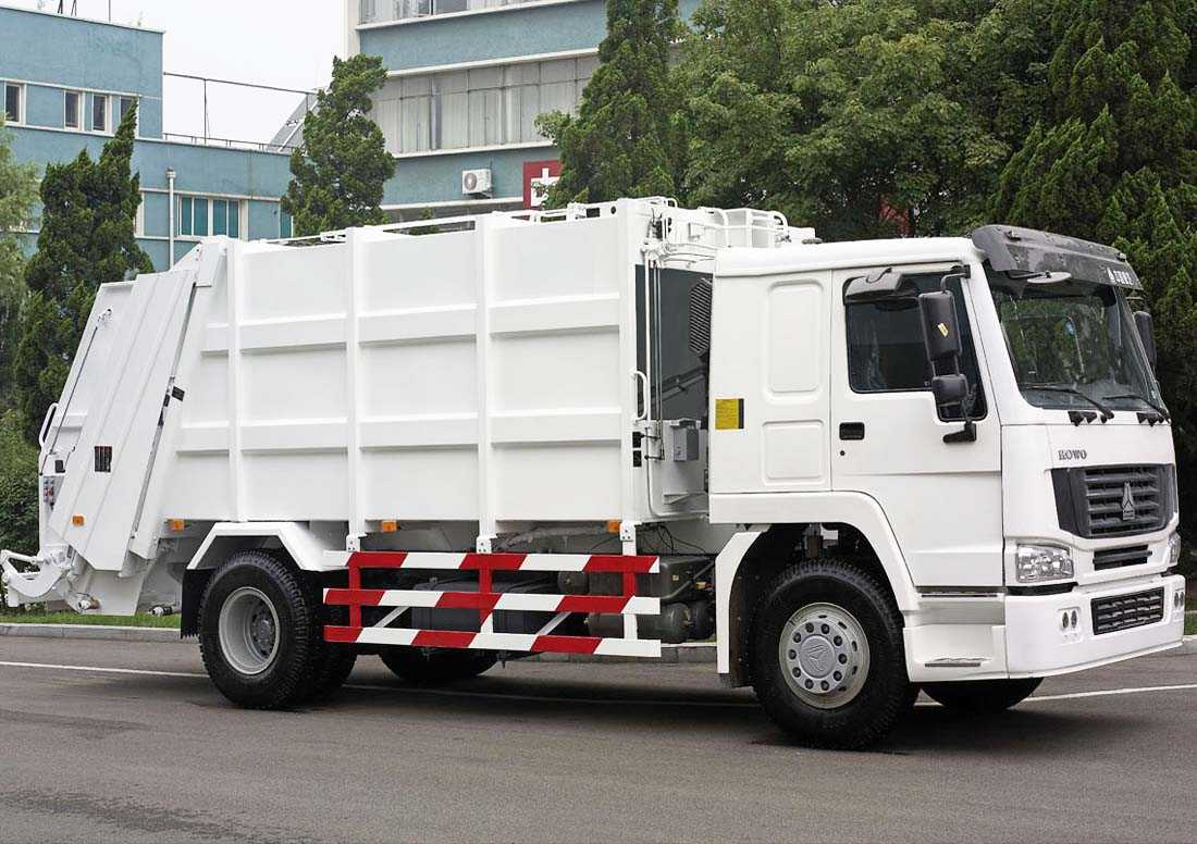 Howo Compress Garbage Truck
